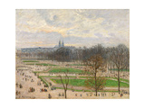 The Garden of the Tuileries on a Winter Afternoon  1899