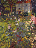 Garden at Vaucresson  1920