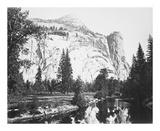 Royal Arches, Yosemite Reproductions de collection premium par Carleton E Watkins