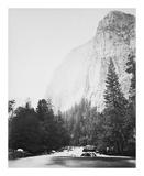 Outline - Cathedral Rock - Yosemite Reproductions de collection premium par Carleton E Watkins