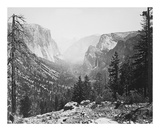 The Yosemite Valley from Inspiration Point Reproductions de collection premium par Carleton E Watkins