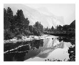 Mirror View, Yosemite, North Dome Reproductions de collection premium par Carleton E Watkins