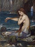 A Mermaid  1900