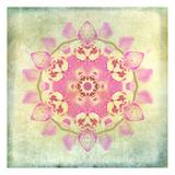Orchid Circle 2 Reproduction d'art par Tina Carlson