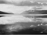 "Lake And Mountains ""McDonald Lake Glacier National Park"" Montana 1933-1942"