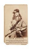 Seth Kinman  California Hunter And Trapper  Who Presented President Lincoln With Elk-Horn Chair