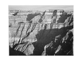 "Closer View Of Cliff Formation ""Grand Canyon From North Rim 1941"" Arizona 1941"