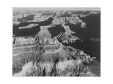 "View Dark Shadows To Right High Horizon ""Grand Canyon National Park"" Arizona 1933-1942"