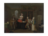 William Hogarth: Marriage À-La-Mode: The Visit To The Quack Doctor