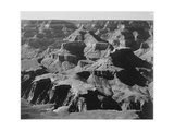 """View Of Rock Formations """"Grand Canyon National Park"""" Arizona 1933-1942"""