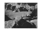 """View From Yava Point Rock Formations And Valley """"Grand Canyon National Park"""" Arizona 1933-1942"""