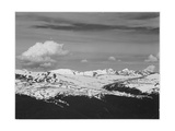 Timberline Dark Fgnd Light Snow Capped Mt Rocky Mountain NP Never Summer Range  Colorado 1933-1942