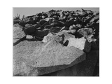 "Rock Formation ""Moraine Rocky Mountain National Park"" Colorado 1933-1942"