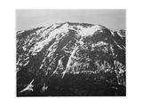 "Full View Of Barren Mountain Side With Snow ""In Rocky Mountain National Park"" Colorado 1933-1942"