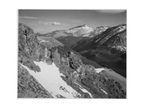 "View Of Barren Mountains With Snow ""Long's Peak Rocky Mountain National Park"" Colorado 1933-1942"