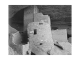 "Section Of House ""Cliff Palace Mesa Verde National Park"" Colorado 1941 1941"