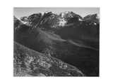 "View Of Hills And Mountains ""In Rocky Mountain National Park"" Colorado 1933-1942"