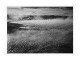 Water Surface Presents A Different Texture  Fountain Geyser Pool Yellowstone NP Wyoming 1933-1942