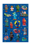 Robot Invasion Collage