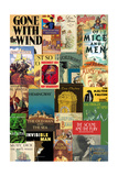 Classic Book Cover Collage