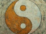 Gold Yin And Yang