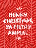 Filthy Animal Reproduction d'art par Cat Coquillette
