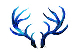 Blue Antlers