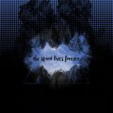 The Spirit Lives Forever Black Blue Reproduction d'art par Melanie Viola