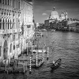 Venice Canal Grande & Santa Maria Della Salute Reproduction d'art par Melanie Viola