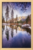 Winter Reflections in Yosemite Valley