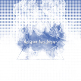 The Spirit Lives Forever White Blue Reproduction d'art par Melanie Viola
