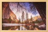 Winter Riverside Scene  Yosemite Valley