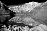 Laurel Mountain Reflections BW