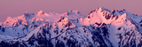 Alpenglow on Mt Olympus