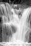 Water on the Rocks III BW