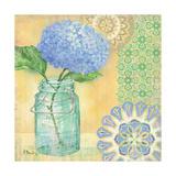 Vintage Glass Floral II