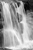 Water on the Rocks II BW