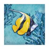 Azure Tropical Fish II