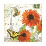 Carte Postale Sunflowers I