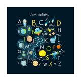 Vector Space Alphabet