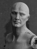 Old Decaying Mannequin  Shot on B&W  Symbol of the Passage of Time