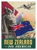 New Zealand - Via Pan American Airways