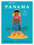 Discover Panama - San Blas Indiansa Pre-Columbian Civilization
