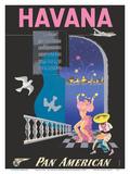 Havana  Cuba - Pan American World Airways