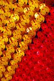 Red and Yellow Lanterns Hanging in Kek Lok Si Temple  Penang  Malaysia