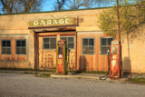 Old Service Station in Rural Utah  Usa