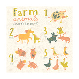 Farm Animals Learn to Count Part One 1 Cow  2 Horses  3 Dogs  4 Pigs  5 Geese Funny Cartoon Chil