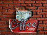 Hot Coffee Shop Vintage