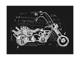 Image of Motorcycle  Which is Made in the Style of Graffiti