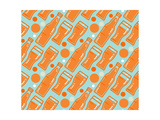 Oktoberfest Seamless Pattern Beer Festival Background for Wallpaper  Wrap  Poster and Print  T-Shi